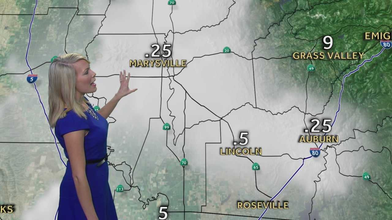 KCRA 3 First Alert Weather meteorologist Tamara Berg tracking the thickest morning fog.