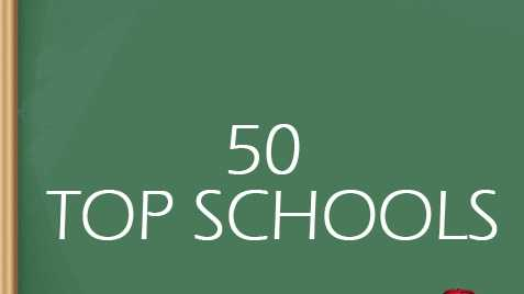 This list ranks the area's top 50 schools by using public and private data. Grades, health and safety, culture and grades, teacher grades and extracurricular activities are some of the factors. How did you school do?