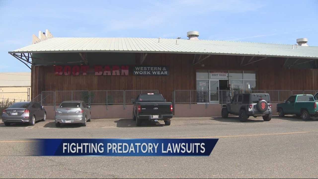 California lawmakers are teaming up to fight predatory lawsuits on businesses. KCRA's Linda Mumma reports.