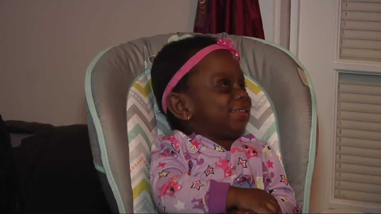 The family of Mariah Anderson said the toddler, who has a rare condition, has been targeted by cyberbullies.