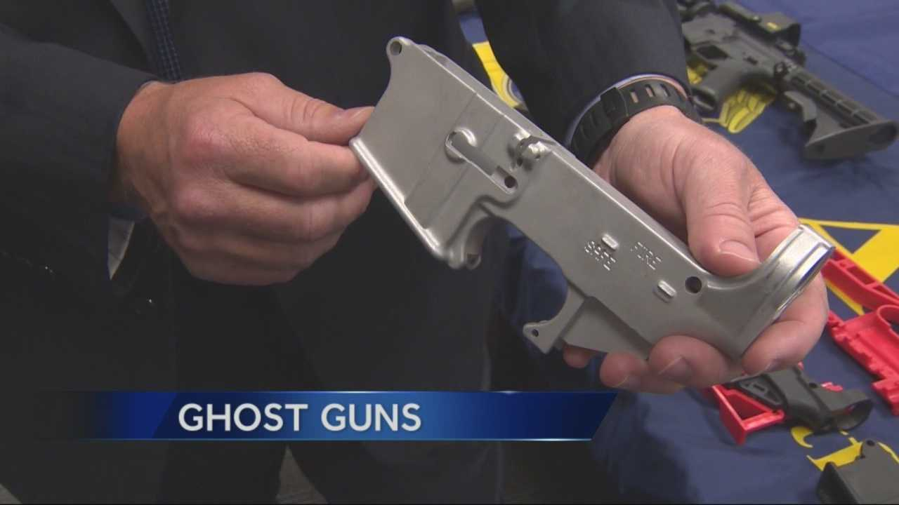 Untraceable guns, referred to as Ghost Guns' are showing up in Stockton tied to gang activity.