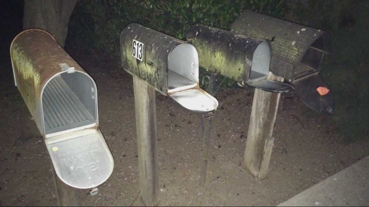 A mail thief has struck again, this time in Yuba City, but a neighbor said she caught the person responsible on her surveillance camera.