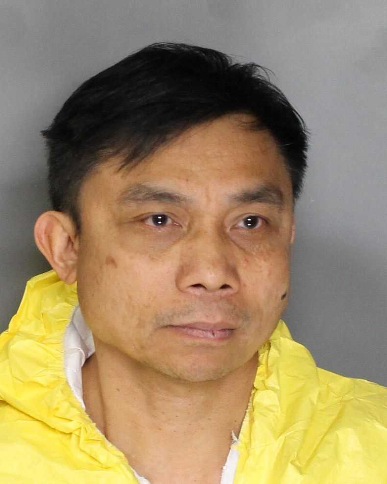 Cresencio Camasura, 55, has been arrested in connection with the stabbing death of a relative, police said.