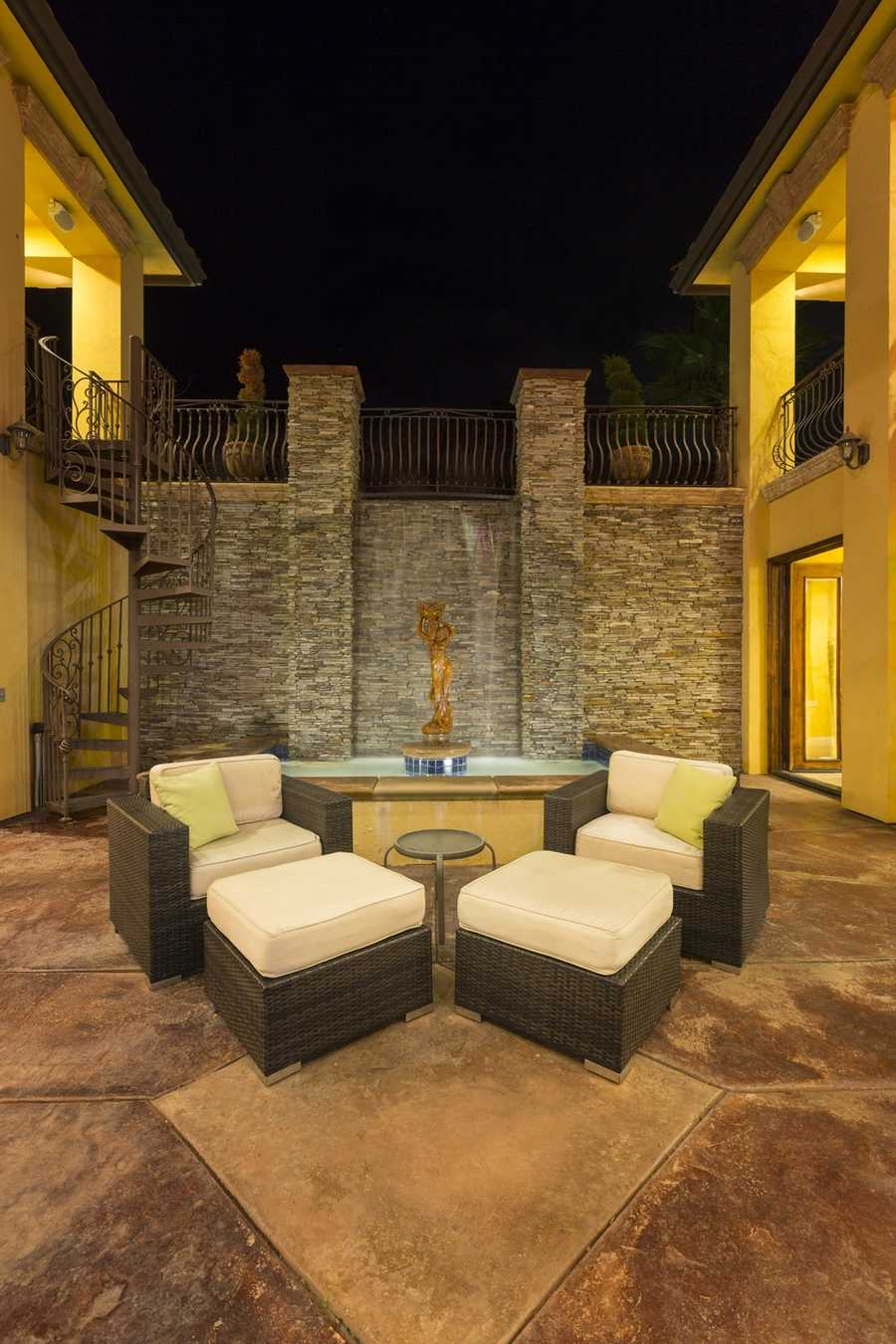 The home builders were inspired by Casa Amarilla in Costa Rica, which has an abundance of exotic waterfalls, orchards of fruit trees and some spectacular views.