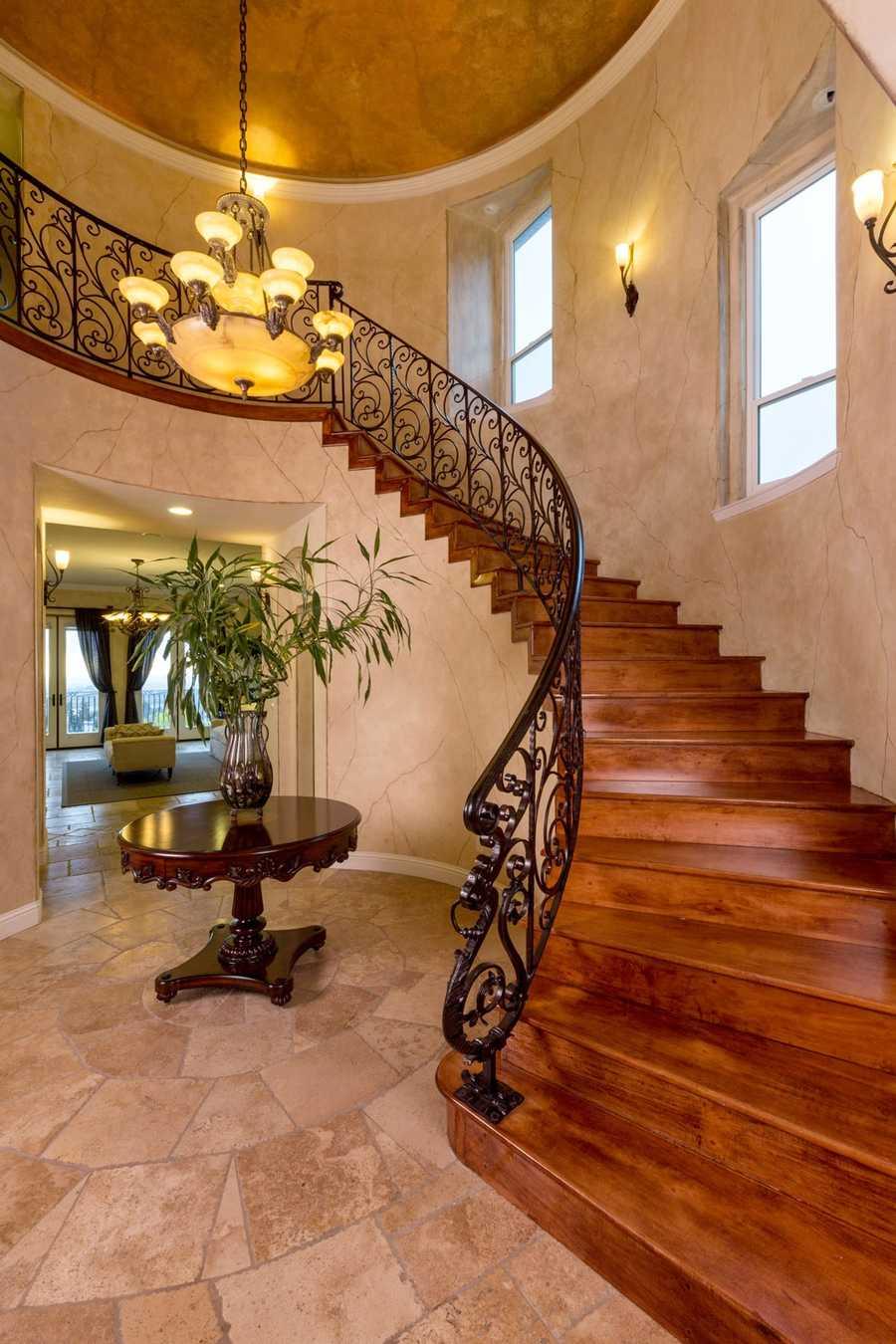 The 5,600-square-foot estate is located in a prestigious area of Ridgeview.