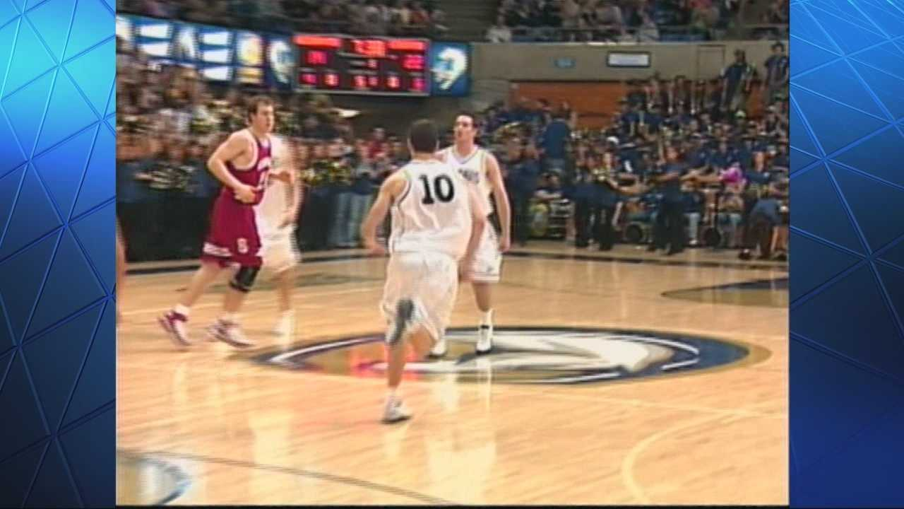 The UC Davis men's basketball team will take on Stanford in the first round of the NIT this week -- with the Cardinal leading the all-time series 18-1. So, could the No. 7-seeded Aggies pull off the upset? The only time they've done it was on Dec. 4, 2005, with a 64-58 win at the Pavilion. Michelle Dapper takes a look back.