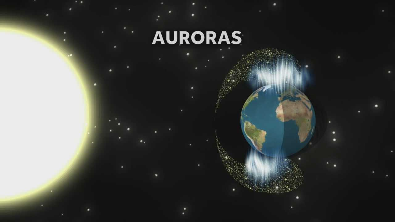 People in New Zealand captured some great photos and video of beautiful auroras lighting up the night sky. KCRA meteorologist Dirk Verdoorn explains what causes the impressive phenomenon.