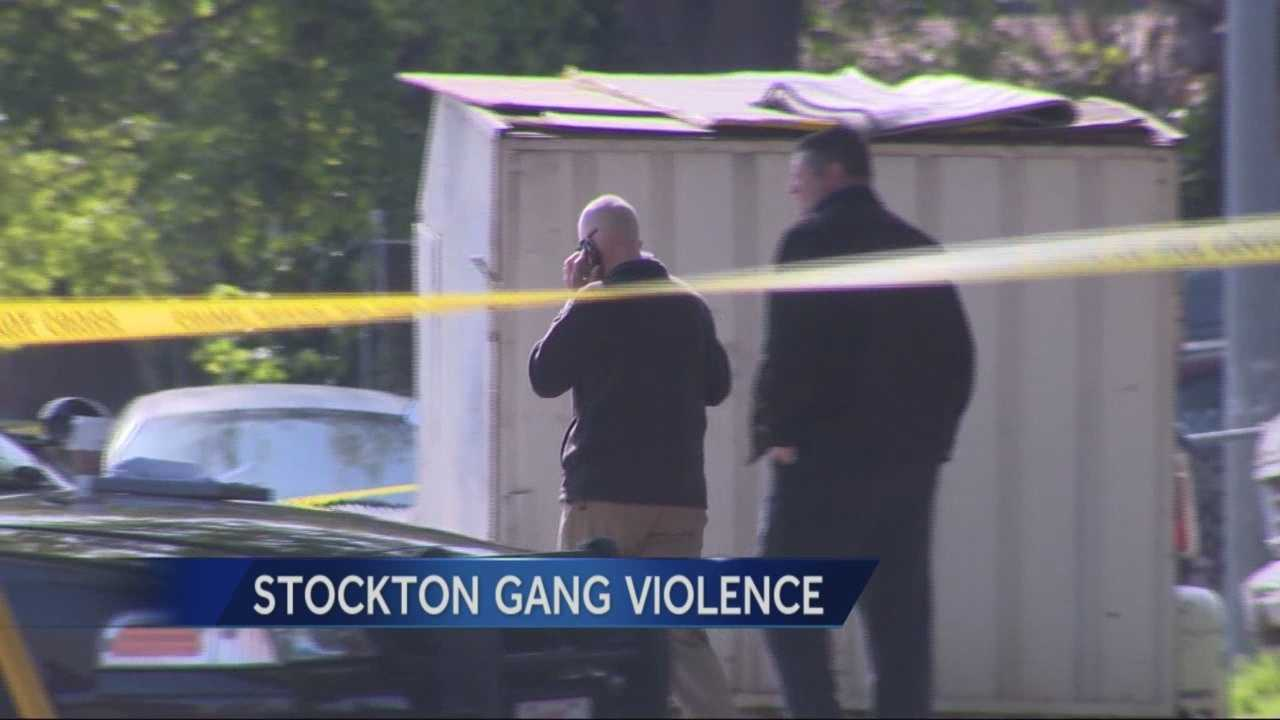 After making progress against gang violence, apparently Stockton is seeing a recent rise in violence with no answer as to why.