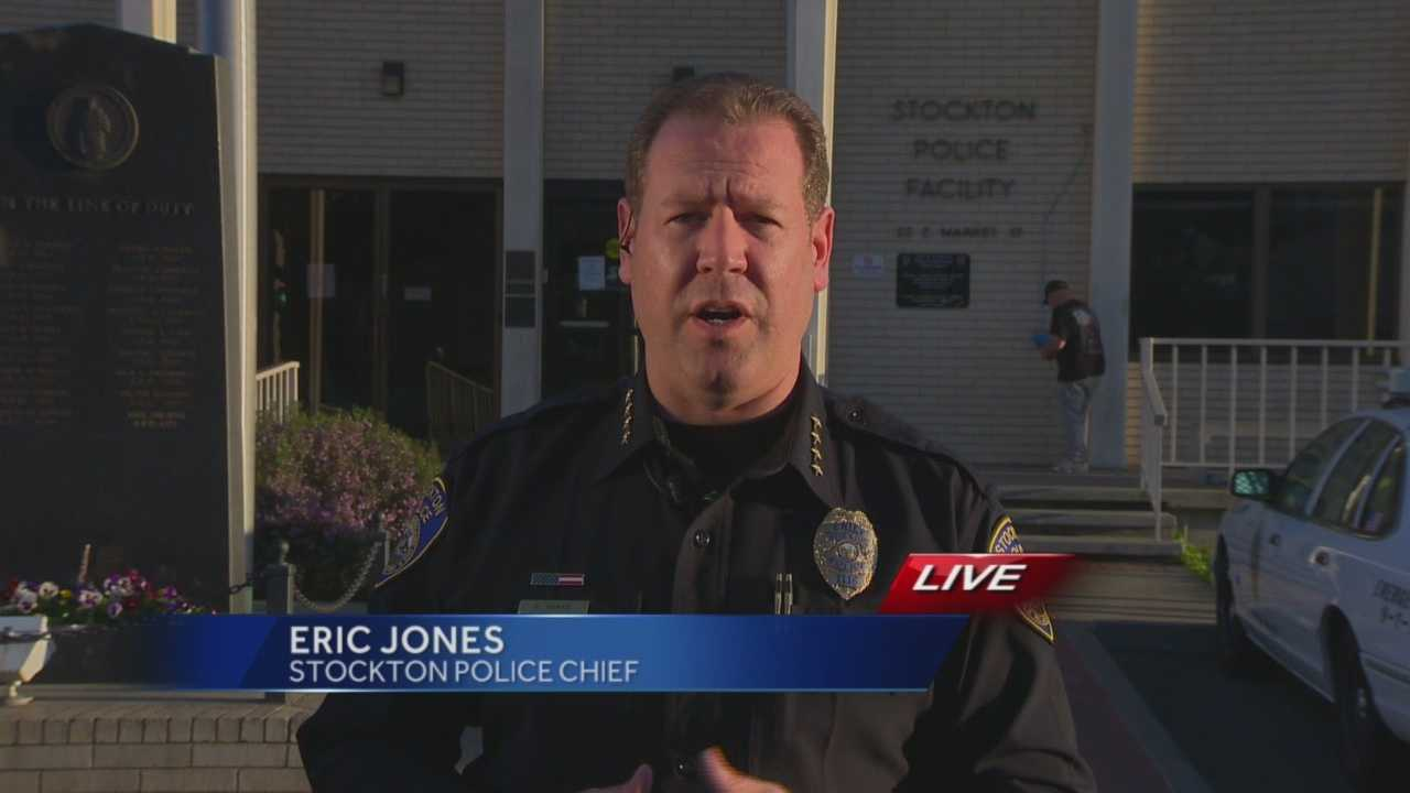 Stockton police Chief Eric Jones spoke with KCRA 3 on Wednesday about violence in the city over the past few weeks, including the deadly drive-by shooting Tuesday night.