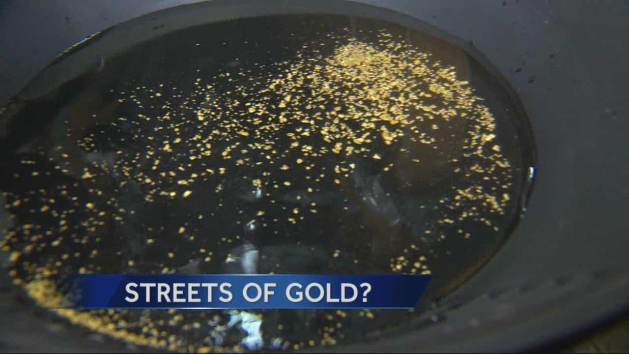 After gold was found in dirt excavated from Placerville streets, many people are looking for a way to cash in on the find.