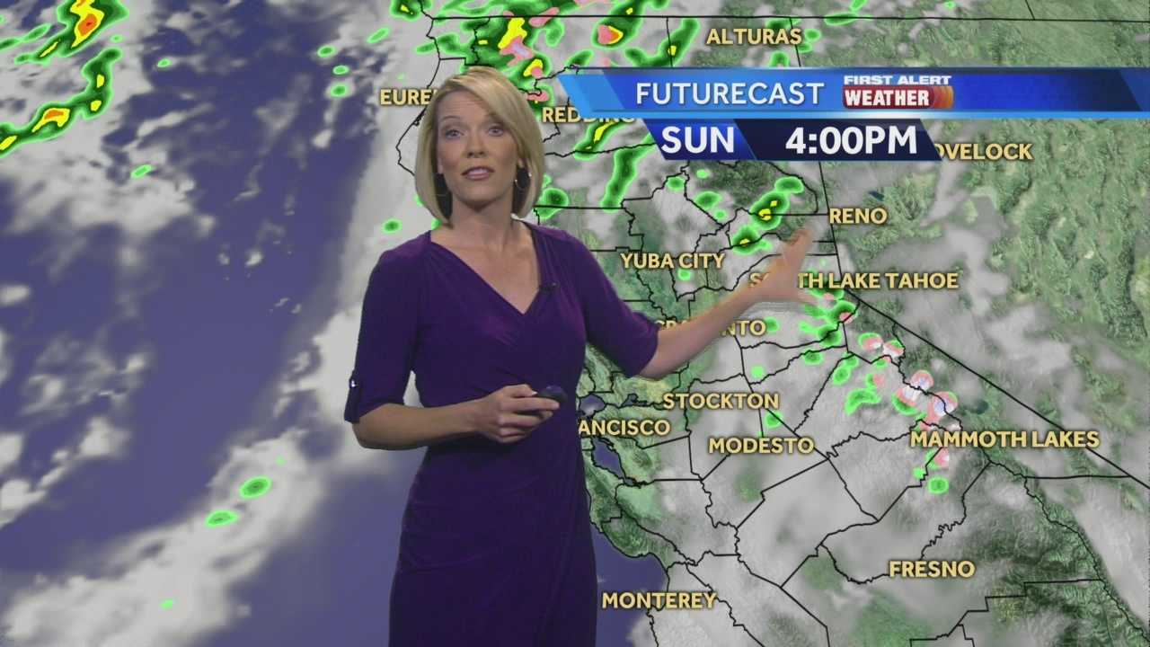 KCRA 3 Meteorologist Eileen Javora shows when we may see some showers.