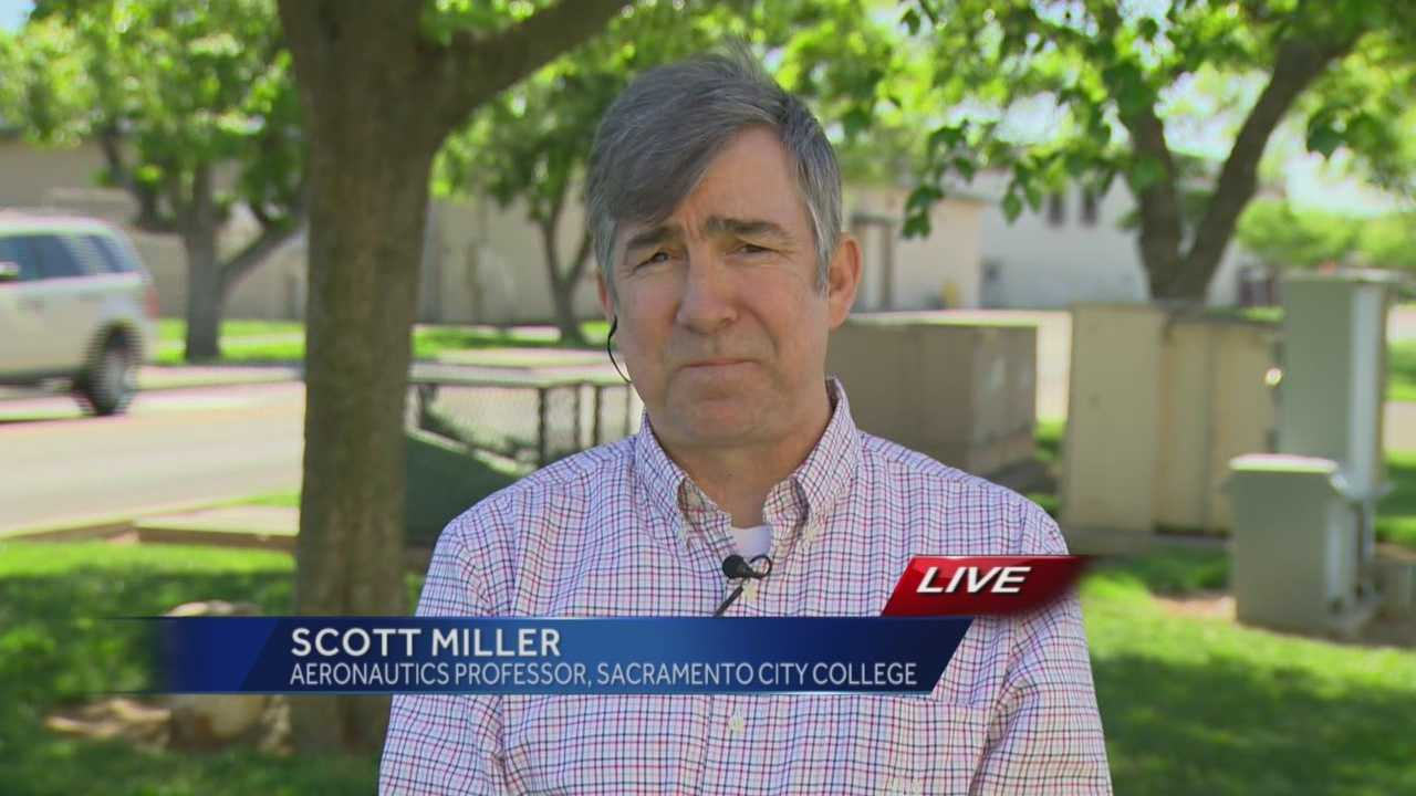 Scott Miller, an aeronautics professor at Sacramento City College, discusses safety protocols that are in place on a commercial airline following the crash of a Germanwings plane in the French Alps.