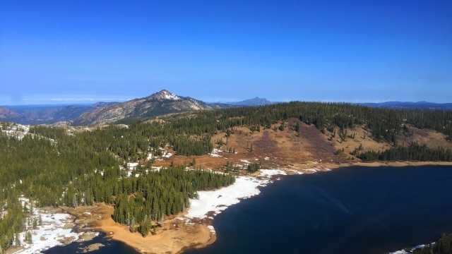KCRA 3 shot new photos and videos from the Sierra Nevada on Tuesday, where snow has been pretty hard to find. In fact, the past few months have been dreadful when it comes to snowpack.