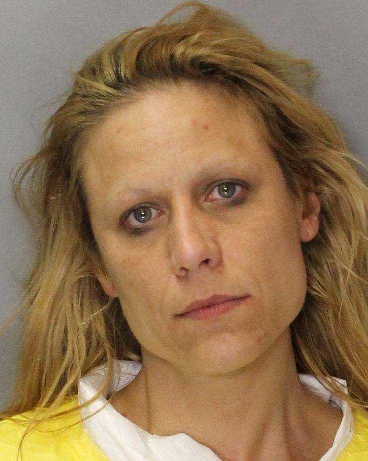 Sabrina Ahrens-Gravelle, 39, was arrested April 15 on suspicion of burglary, Sacramento police said.