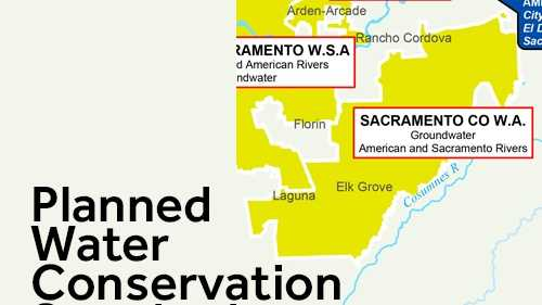The State Water Resources Control Board said urban water districts will face steeper cuts than other regions in the state. See how much some Sacramento-area water districts will have to save.