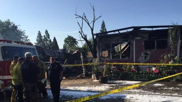 Residents Forced To Flee Yuba City Mobile Home Fire