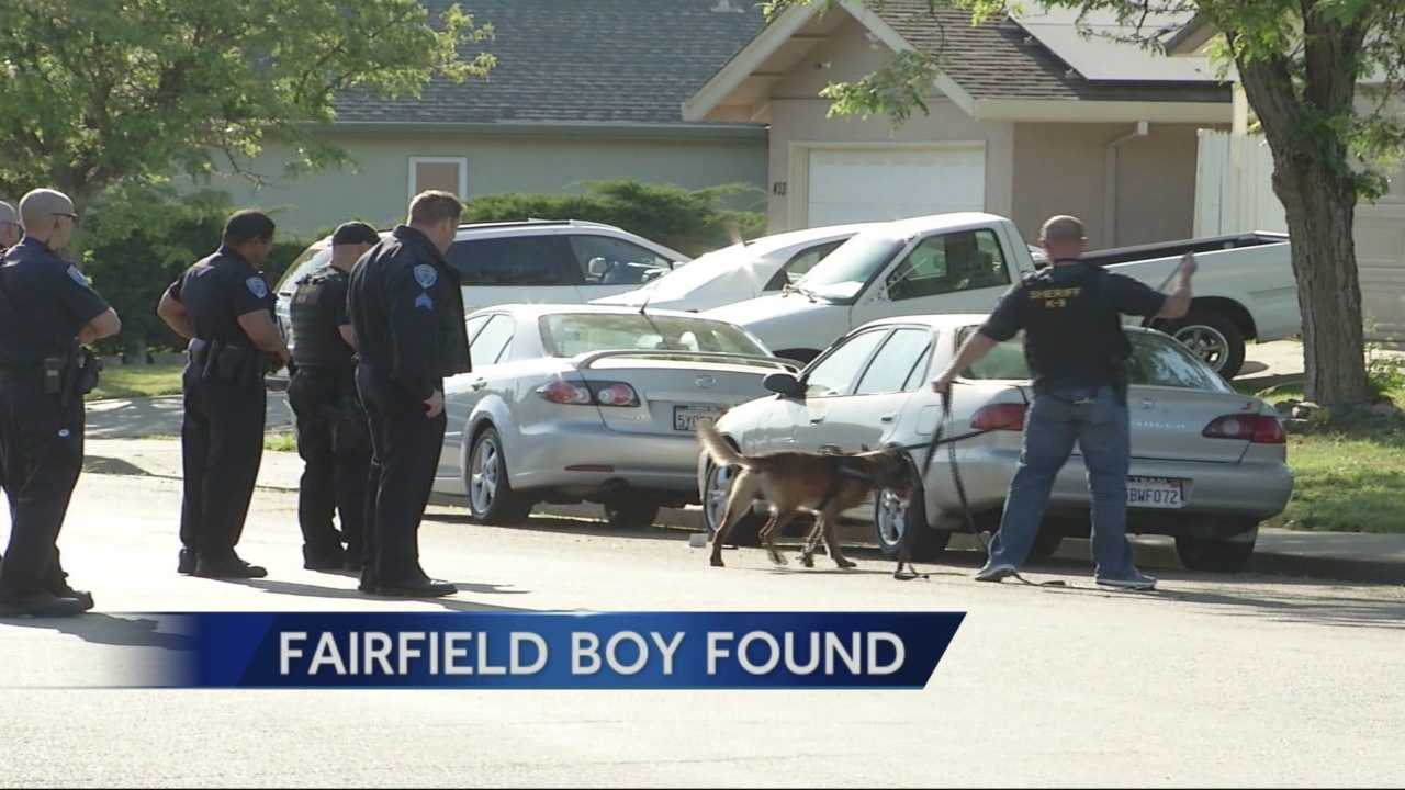 A state-wide Amber Alert was triggered Monday after a car with an 8-year-old boy asleep in the back seat was stolen in Fairfield.