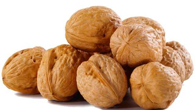 1 walnut = 4.9 gallons of water