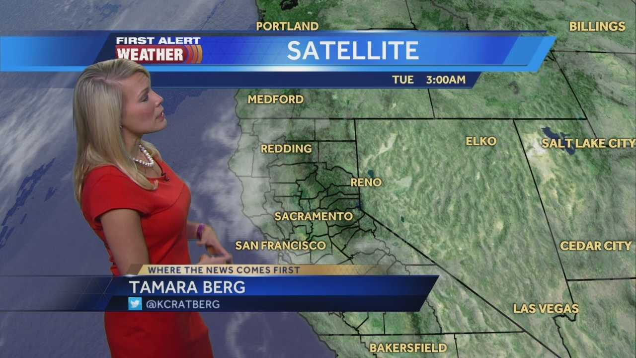 First Alert Weather Meteorologist Tamara Berg explains the changes to expect through the rest of the week.
