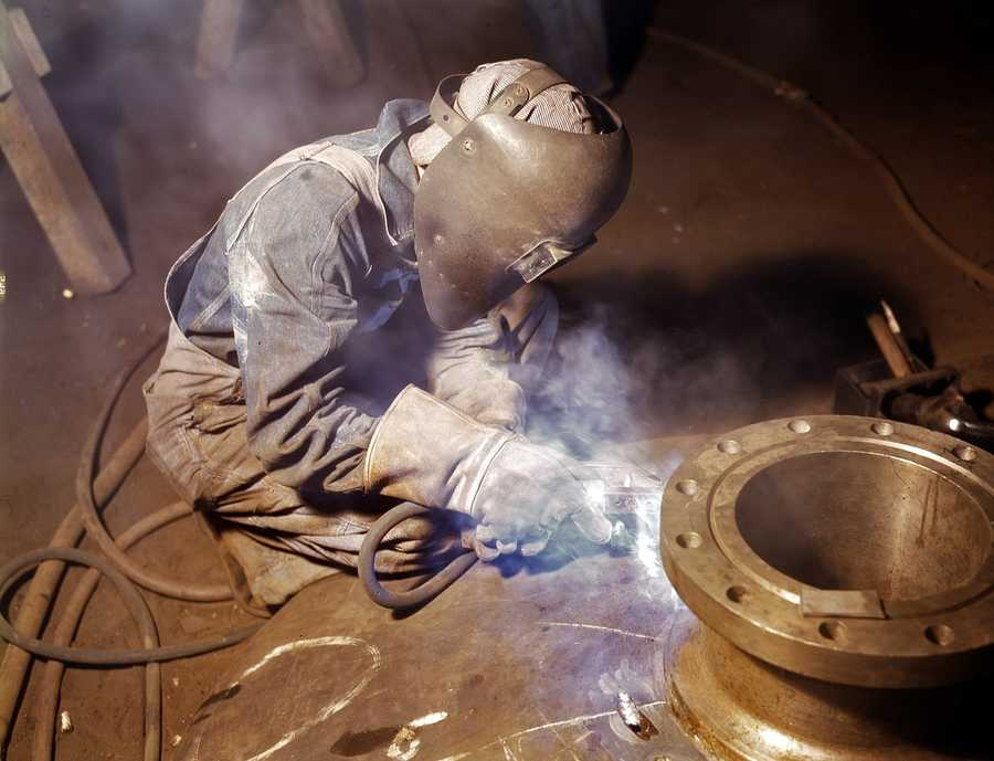 And for the WORST entry-level jobs, we have:1.)Welder