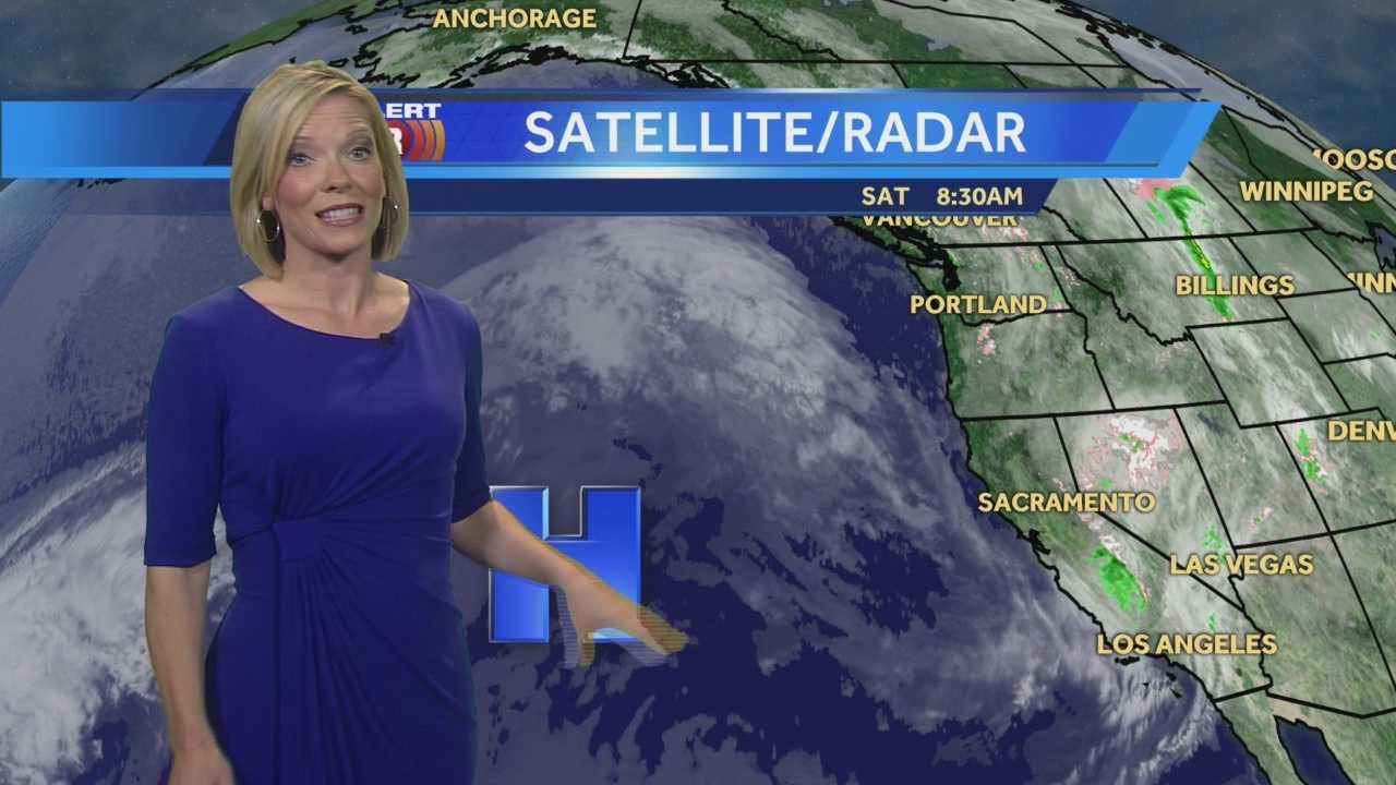 KCRA 3 Meteorologist Eileen Javora shows if there is any more rain ahead.