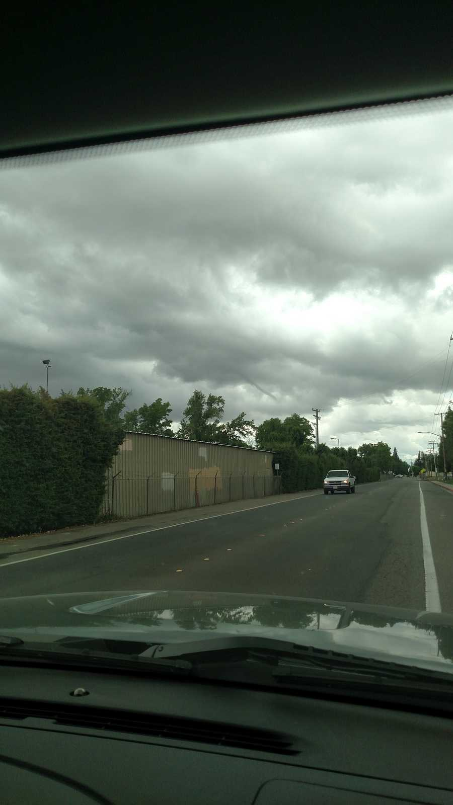 Funnel cloud Turlock