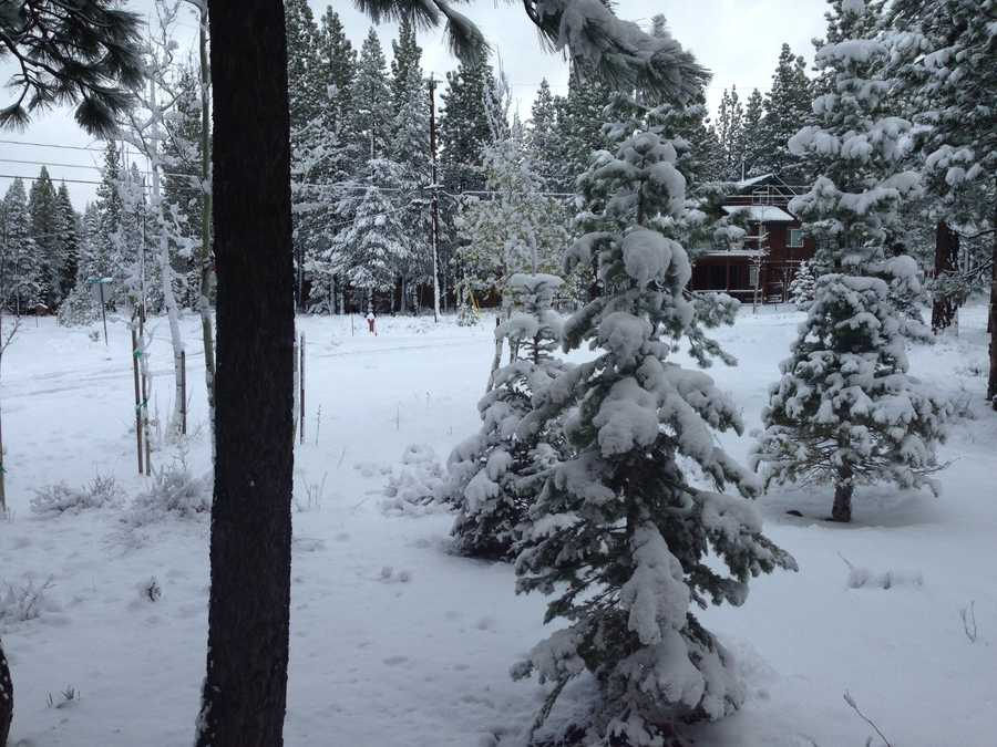 Snow in Truckee