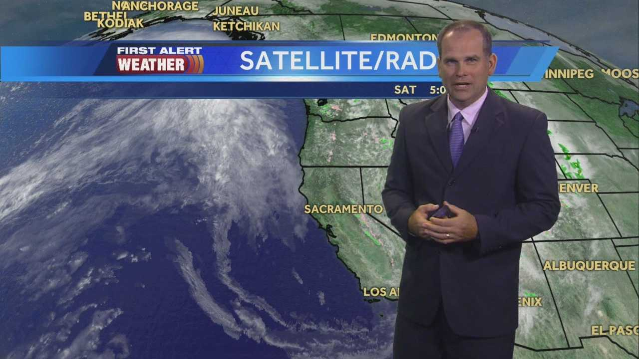 KCRA 3 First Alert Weather meteorologist Dirk Verdoorn takes a look at when temperatures will peak this coming week.
