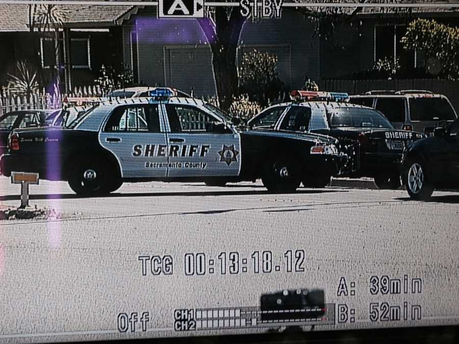 Officers were searching for a suspected gunman in a Carmichael neighborhood after a woman was shot multiple times, according to Sacramento County sheriff's deputies.