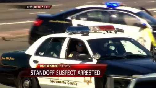 KCRA 3's David Bienick reports live as a shooting suspect is taken into custody after an hours-long standoff in Carmichael.
