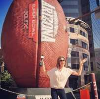 The Super Bowl made for some great posts earlier this year.We've arrived in #Arizona for a one-day whirlwind trip to preview #SuperBowlXLIX on #NBC! @nbcnews Tonight on #KCRA, Kellie DeMarco will show you what #Phoenix looks like right now as the city prepares to host the game for a third time. Our crew will be back next week for all the action. Who are you rooting for? #TeamKCRA3 #sacramento #sac #sports #SuperBowl #superbowl49