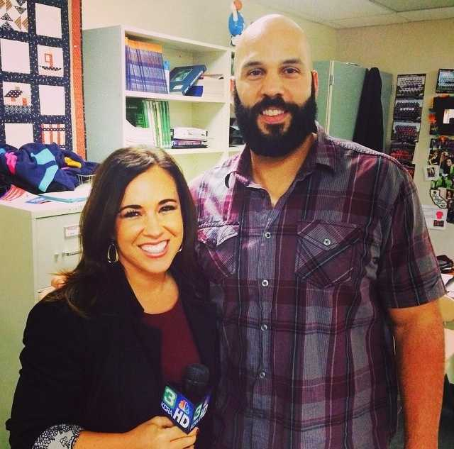 Who doesn't adore a feel-good story?Tonight we're talking to Jeremiah Taylor, who hit the #halfcourt shot this weekend at the @sacramentokings game! Tune in at 10 on #kqca or at 11 on #kcra with Michelle Dapper, @sodapper. #sports #greatshot #kings #sacramento #behindthescenes