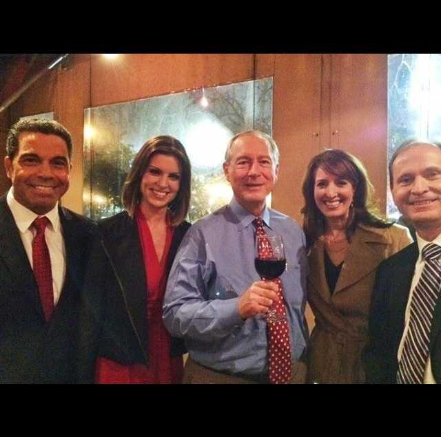 Speaking of crowd-pleasers: Sacramento's original newsman, Tom DuHain. (It was hard to say goodbye!)Sharing this photo from Kellie's #kcra #facebook page: From left, it's Gulstan Dart, Kellie DeMarco, Tom DuHain, Edie Lambert and Mark Finan. Looks like a great time at a farewell event for Tom tonight! We toast to his 46-year career at #KCRA and wish him nothing but the best in retirement. Tom is a true professional, dependable, classy, smart and caring man, as Kellie wrote. We'll miss him! #sacramento #norcal #tvnews #tomduhain #sac #reporter