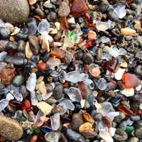 Visiting Mendocino County: Fort Bragg is one of my latest favorite places in the state. You should see MacKerricher State Park, Glass Beach (pictured), the lighthouses ... You can even whale-watch if you go in March, which I recently confirmed.