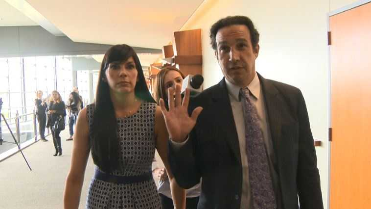 Former Rocklin physcian Efrain Gonzalez leaves court Thursday following his sentencing hearing.