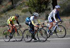 Photos from Stage 1 of the women's Amgen Tour of California. (May 8, 2015)