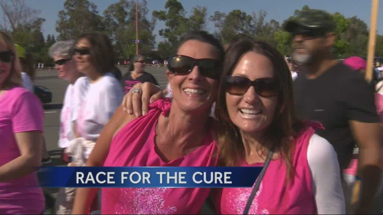 Thousands of people from different walks of life participated in the annual Race for the Cure in Sacramento.