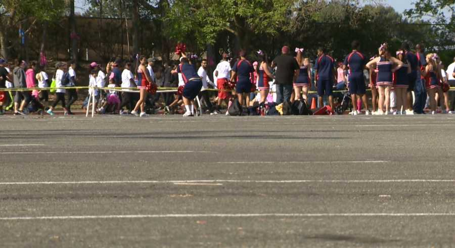 Organizers are hoping to raise $1 million from Saturday's race.