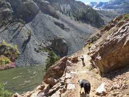 The 3-mile-long Lundy Canyon Trail packs an incredible amount of scenery into a short, intense trip into the heart of the High Sierra's Hoover Wilderness around Lundy Lake in Mono County.