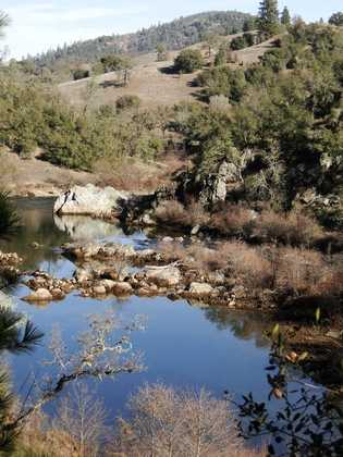 This shot was taken on a 12-mile hike from Cronan Ranch to Salmon Falls Road, along the American River.