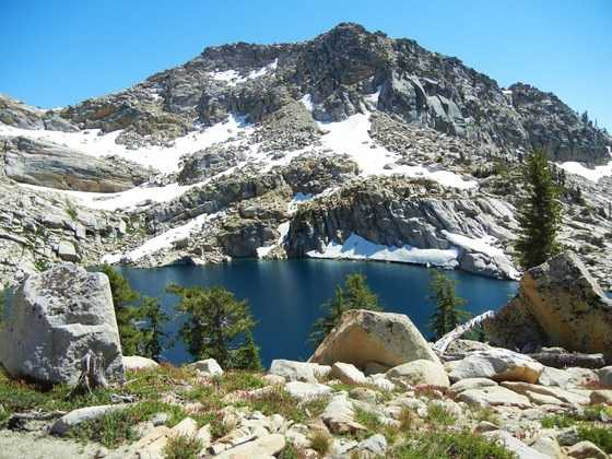 Here's an idea: Take a hike from the Wrights Lake Recreation Area up to Smith Lake, passing first alongside Grouse and Hemlock lakes. This isn't far from Kyburz.