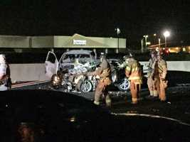 All lanes of westbound Interstate 80 at Madison Avenue in Sacramento have reopened after a wrong-way crash killed three people early Tuesday morning, according to the California Highway Patrol.
