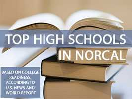 The 2015 rankings for the top high schools in California are out. Take a look at the top 30 public high schools in Northern California based on college readiness, according to the U.S. News and World Report.