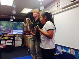 KCRA's Leticia Ordaz teamed up Tuesday with the Sacramento Zoo to bring the ZooMobile to her former elementary school in Galt. Check out Leticia's photos from the event.
