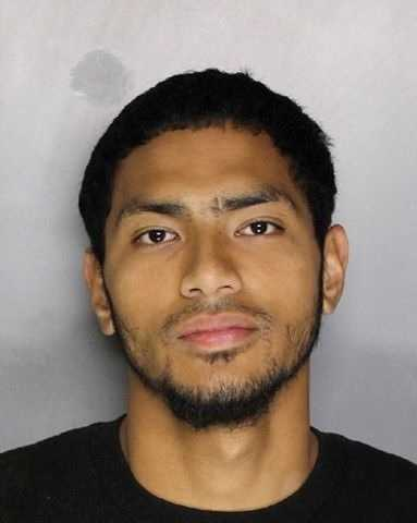Sione Makaafi was booked on charges of robbery, vehicle theft, felony evading and conspiracy, police said.
