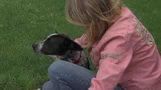 A special rescue dog has a new home thanks to a very special animal lover.