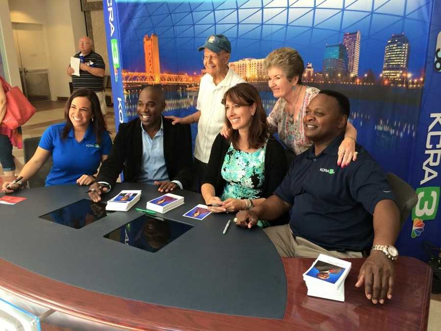 The KCRA team had a blast meeting so many of our terrific viewers at the KCRA 3 Health and Wellness Festival.