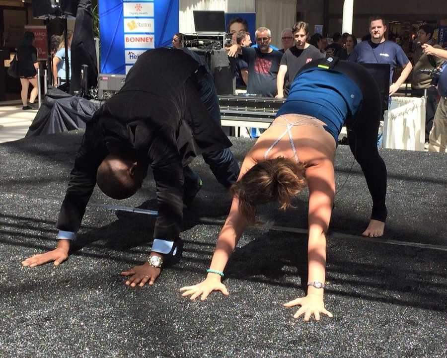 Can Rob Malcolm do AcroYoga?