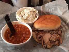 1. Joe's BBQ -- Blue Ridge, Georgia