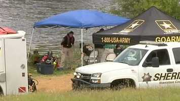 Saturday, May 4, 2013 -- Investigators say they're making progress, but they still can't name any suspects in Leila's death. Dive teams search two nearby reservoirs, but the sheriff's department is tight-lipped on whether they find anything.
